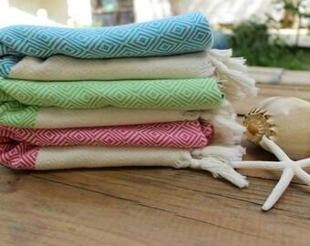 Diamond Bath Towel Turkish Bath Towel,Peshtemal Turkish Hamam Towel Peshtemal Beach Towel Pareo Spa Towel Yoga Mat