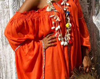 Shells necklaces/Bohemian ecklaces/Beach wear/Summer necklaces/Trendy Summer necklaces * RECIFE NECKLACE