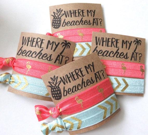 Beach Souvenir Ideas: Where My Beaches At Beach Bachelorette Party Nautical Theme