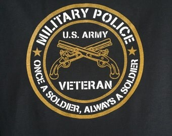 Military Police, Veteran, US Army