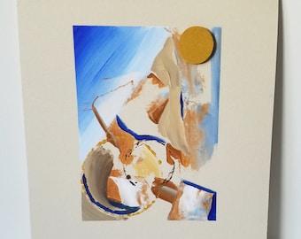 "Mixed Media Painting ""Texture 11"""