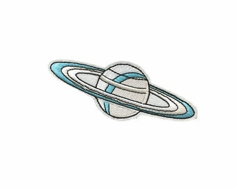 planet patch embroidered patch iron on patch moon patch cute patch iron on patch sew on patch