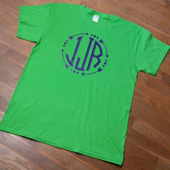 Items Similar To Arrow Shirt Monogrammed Arrow Shirt Large