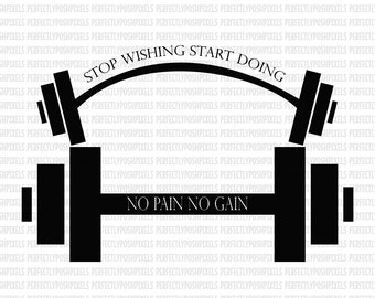 Barbell SVG Weights Body Builder Fitness Digital File DXF EPS png pdf Digital Circuit Design Files Silhouette Cut Files Commercial Use
