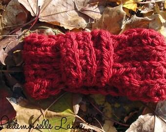 Vintage headband - Red