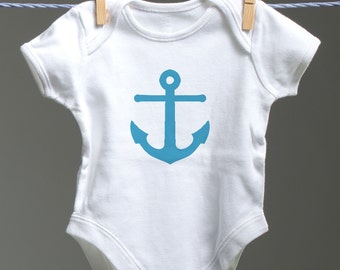 Anchor Onsie, Nautical Onsie, Anchor, Baby Shower Gift, Sailing Baby, Sailor Baby, Nautical Baby