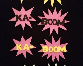 KABOOM! action hair clips