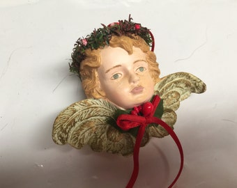Ceramic Angel Ornaments
