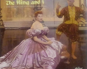 The King and I soundtrack vinyl record