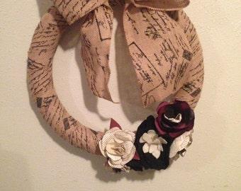 Paper Flower Wreath SALE