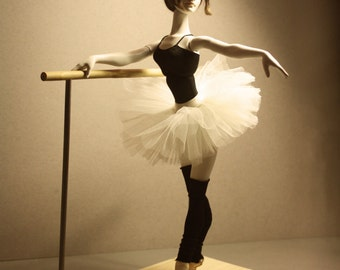 "Bjd Doll ""At the ballet class"" (New collection ""Ballet"") + Dancers bar"