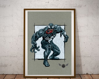 Limited Edition Print - Venom
