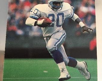 Pro Set 1990 Barry Sanders Card Number 1 - Lions - RB