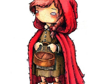 little Red Riding Hood // Print