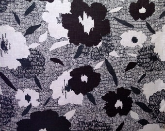 "3 Yards x 54"" Carys-Ink by Robert Allen Interior Decorating Fabric"