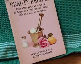 Vintage Dell Purse Book Beauty Recipes