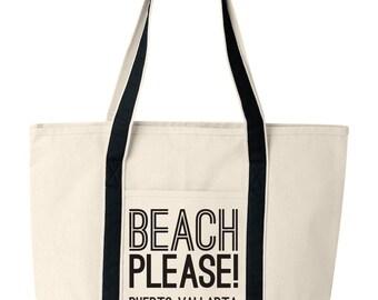 Beach tote | Etsy