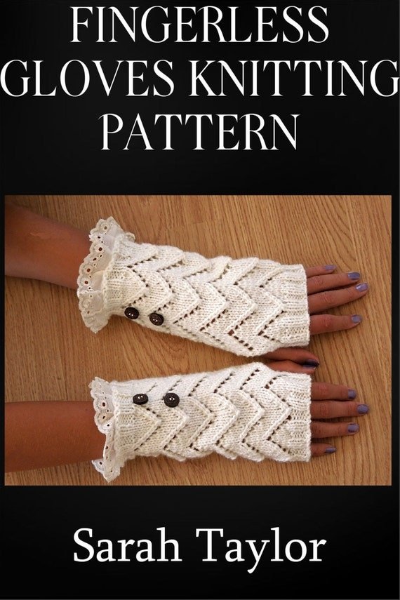 Fingerless Gloves Knitting Pattern Nz : Knitting PATTERN - Fingerless Gloves - Easy Project ...