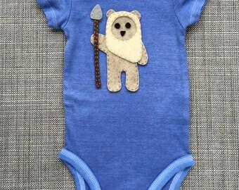 Star Wars Ewok Baby Bodysuit