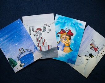 6 XMAS Cards of your choice