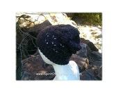 Slouchy Hat, Gray, Crochet Slouchy Hat, Slouchy Beanie, Handmade, Lacy Hat, Crochet Hats, Crochet Beanies, Summer, Boho, Charcoal, Beach