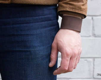 Leather bracelet Simple leather bracelet