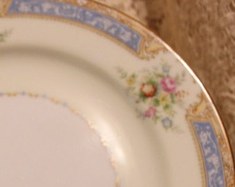 Noritake Blue Dawn #622 10 inch dinner plate Rare and collectible