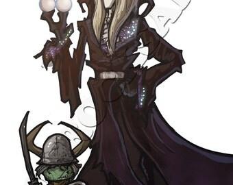 Jareth, The Goblin King (and bonus Goblin)