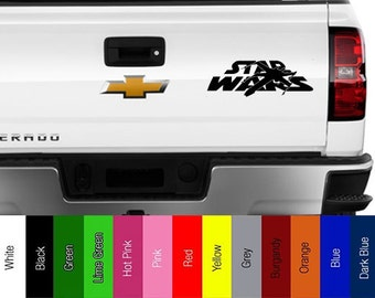 Star Wars - Logo with X Wing Fighter -  Vinyl Decal for Car, Truck, Wall, Laptop - Jedi, Empire, Rebel, Skywalker,