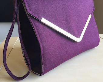 Purple Clutch Purse/Evening Bag