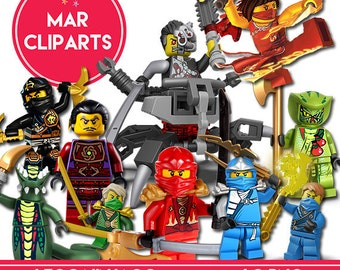 LEGO NINJAGO cliparts