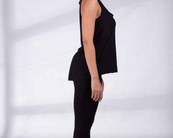 ORGANIC Yoga Leggings, Black Leggings, Yoga Tights, Yoga Clothing, Yoga Pants, Yoga Clothes, Organic Leggings, Organic Cotton Pants