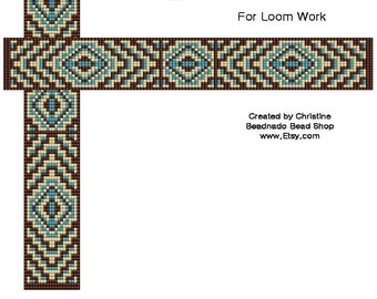 Energized Pyramids Bead Loom Pattern