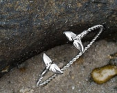 Sea Tail Cuff- Sterling S...
