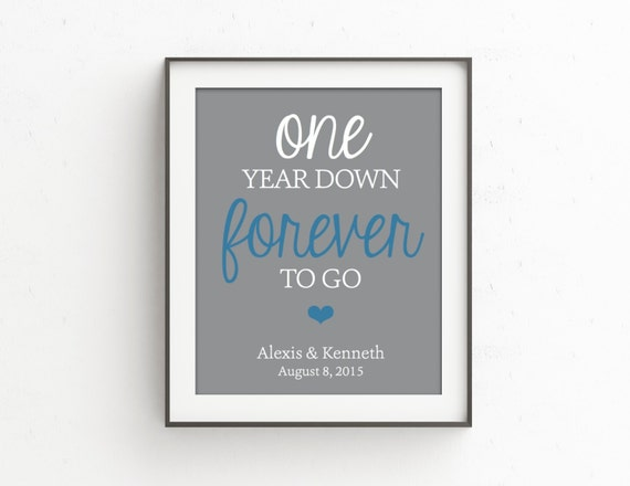 1 Year Anniversary Present For Wife : One Year Anniversary Gifts for Men Anniversary Gift for Wife Gift ...