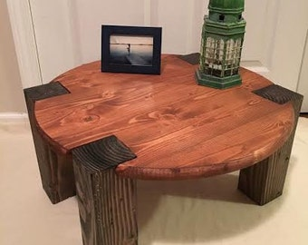 Round Top Coffee Table