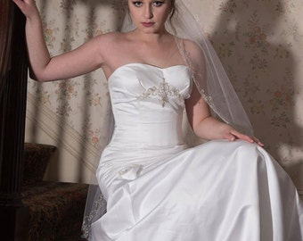 Bridal Gown, Wedding Gown, Vintage Bridal Gown, Mori Lee Wedding Gown