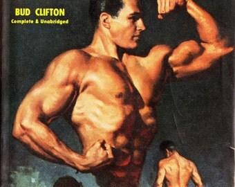 pulp art print Muscle Boy — vintage pulp paperback cover repro