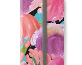 iPhone 6 Wallet, iPhone 6s Wallet, iPhone 6 Plus Wallet, iPhone 6s Plus Wallet, iPhone Wallet, Floral iPhone Wallet Case, Girlfriend Gift