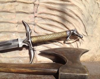 Sleepy Hollow, Ax Props, Sword Props, Cosplay, Larp Props, Larp Weapon Acting Props Metal Sword and Ax Larp Armor Costume Weapons Larp Sword