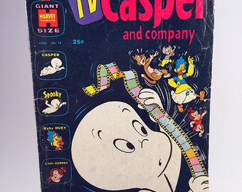 Harvey Comics: Giant Size TV Casper and Company Comic No. 18