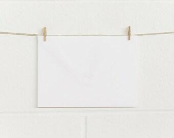 Envelopes 10pk, fits 5x7, 180 x 130mm, RT180 Matte White