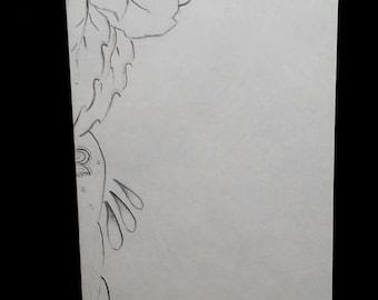 Prison Art Bandana Rose Envelope