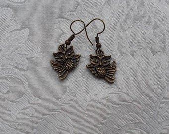 "Earrings ""Owls"""