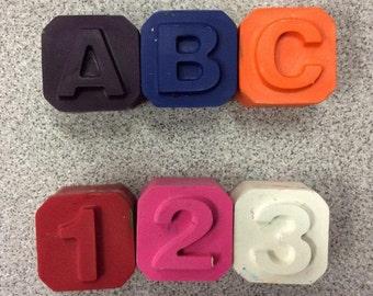 ABC 123 Crayon Set (62 pieces)