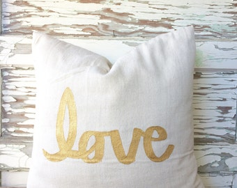 It's LOVE Pillow Cover