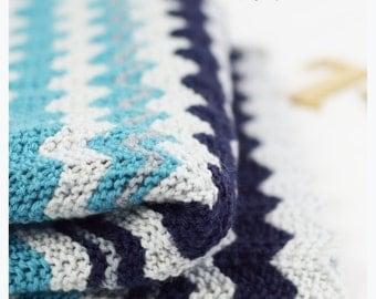 KNITTING PATTERN - Minki Baby Blanket