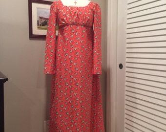 "Jane Austen Regency Gown by Iblamejanetoo - ""Lizzy Bennet"" gown size 4"