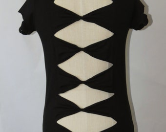 Bow Back Detail Customised Top