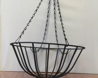Metal Hanging Baskets (set of two)